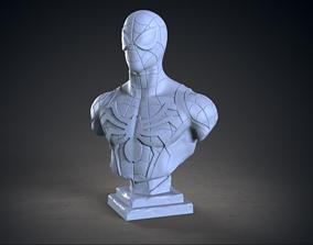 3D print model Spiderman bust art