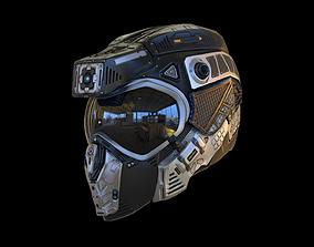 Helmet C19 7k Poly Unreal PKG 3D model