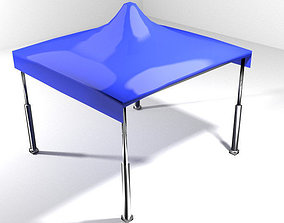 Tent - 4square 3D model