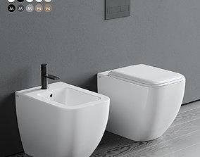 Ceramica Cielo Shui Comfort WC 3D model