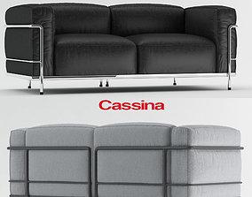 Cassina Lc3 Sofa 3D model