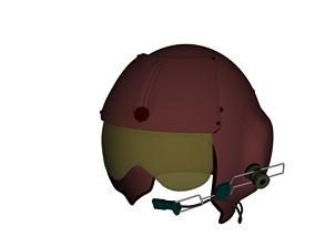 3D model Pilots Helmet MCS-14
