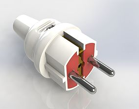 Electric plug mk 2 3D