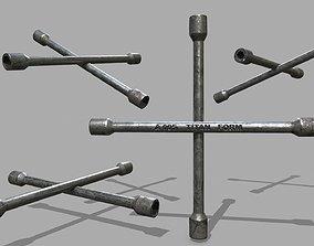 3D model realtime Lug Wrench