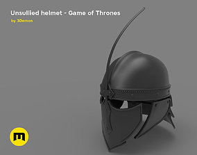 3D print model thrones Game of Thrones Unsullied Helmet