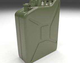Jerry Can Green 3D asset