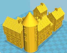 Medieval House 7 3D print model