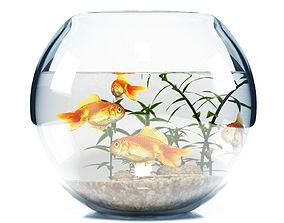 3D Aquarium bowl
