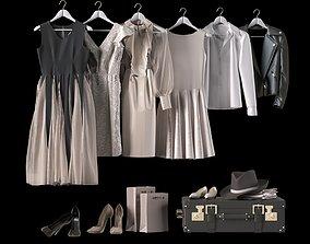 3D model Clothes set