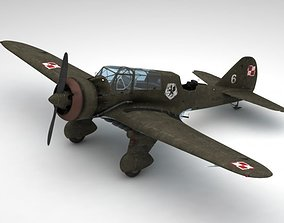 3D model Pzl 23 Karas light bomber