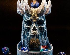 IceSkull Dice Tower 3d printable model
