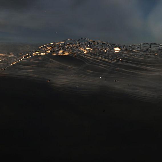 Wire mesh sea