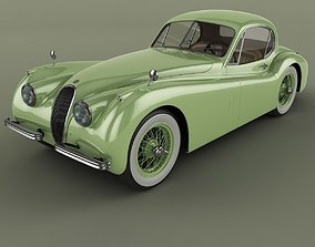 3D model Jaguar XK120 Coupe
