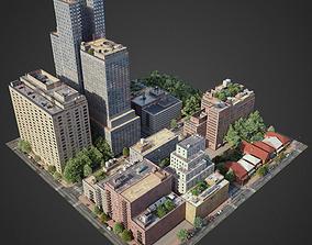 3D model City District C10-R7
