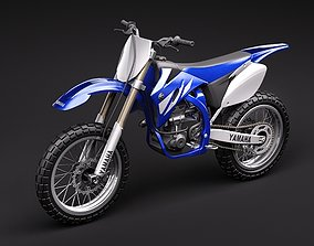 3D trial Yamaha YZ450F offroad 2009