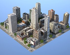 Midtown City 3D model