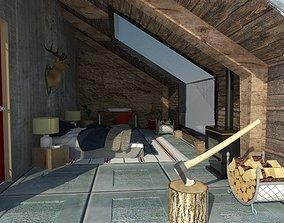 House Terrace 3D asset