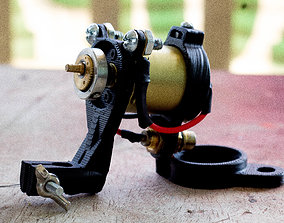 3D printable model Rotary Tattoo Machine Frame