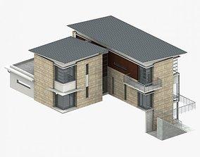 apartment-building Villa 3D