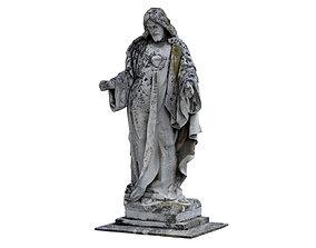 Jesus Sculpture Monument 3D model