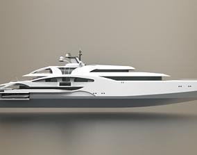 Superyacht II 3D model