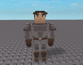 Trove Character Remake 3D asset