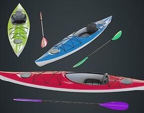 3D model Kayak 2A