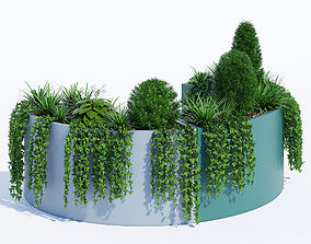 3D model Modular Planters part 2