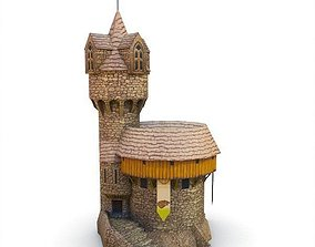 Medieval Building 60 Church 3D model