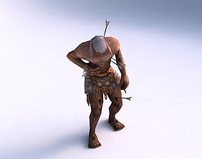 Game ready 3D model animated game-ready 1