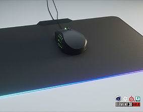 RGB Gaming Computer Mouse 3D model