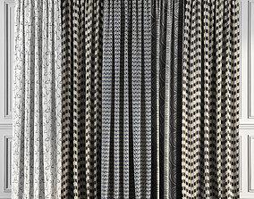 Curtain Set 65 3D model
