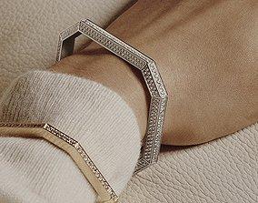 boucheronbracelet Boucheron Vendome Bracelet 3D print model