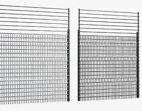 fence 3D model realtime obstacle