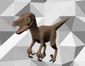 Low Poly Dinosaur 3D asset