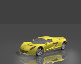 Hennessey Venom GT 3D asset