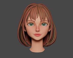 3D model Pumpkin girl