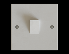 Generic Low Poly Light Switch 3D