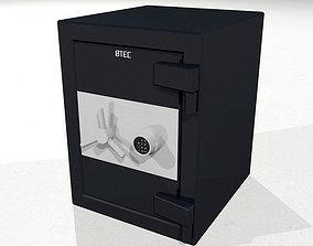 Safe with Opening Door - Cinema 4D Format 3D