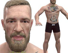 3D model realtime Conor McGregor
