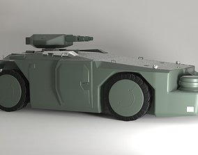 APC - M577 Armored Personnel Carrier 3D model