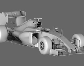 F1 Renault STR10 Season 2015 3D
