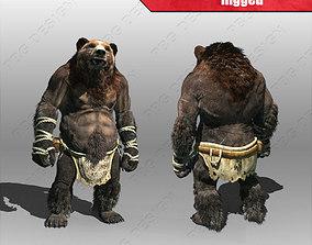 3D model Bear Man