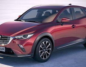 3D model Mazda CX-3 2019