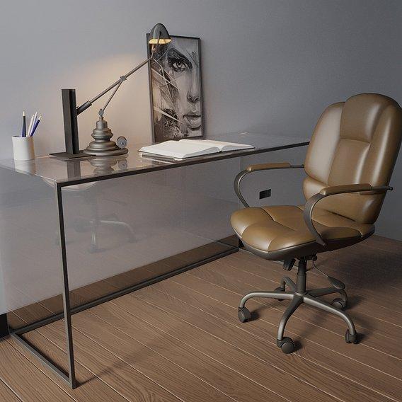 Office Chair Scene