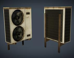 External air conditioner 4 3D asset