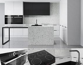 3D model Kitchen Set 2 kitchen