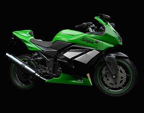 3D model Kawasaki Ninja 250R first-model-june