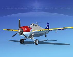 3D Grumman F4F-3 Wildcat V07