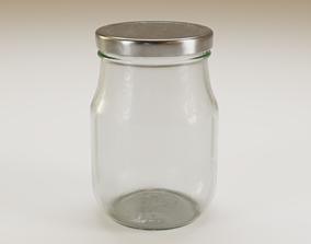 Mason jar kitchen 3D model